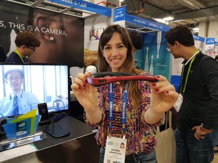 El wearable integra una batería que ofrece una autonomía de 90 minutos