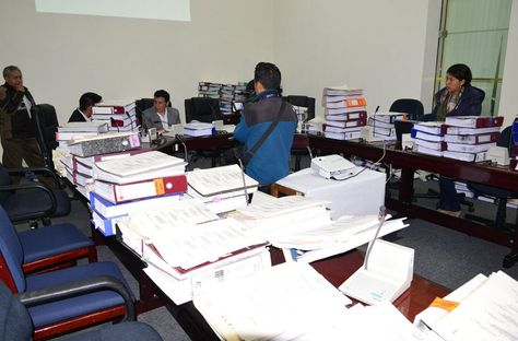 Los archivos de los procesos que trató la Comisión de Justicia Plural, Ministerio Público y Defensa Legal del Estado de Diputados.