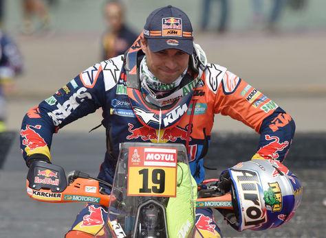 El piloto de Red Bull KTM, Antoine Meo. Foto: AFP