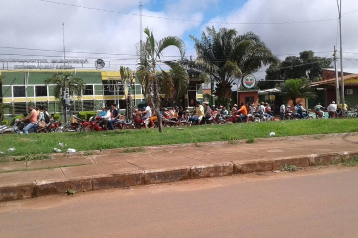 Hoy hubo protestas contra el Código Penal en ocho departamentos