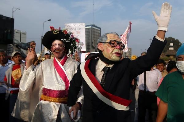 Fujimori: así se realiza 'Marcha por la Paz' a favor de indulto