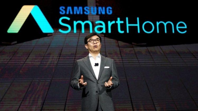 Hyunsuk Kim, presidente y líder de la división de Investigación y Consumo Electrónico de Samsung (Reuters)
