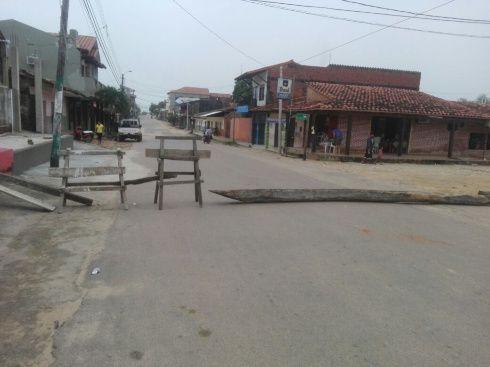 En Ascensión de Guarayos las calles lucen vacías