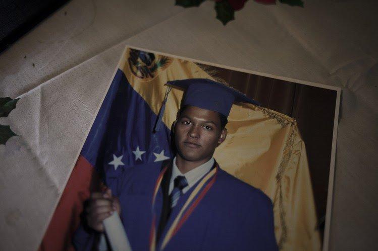 Jose Daniel Bruzual, uno de los asesinados por las fuerzas del régimen