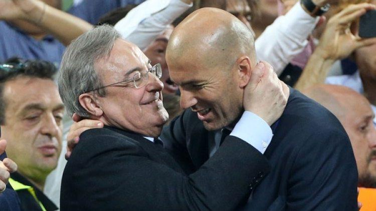 Será cuestión de ver si Florentino Pérez refuerza la plantilla de Zidane o cambia de entrenador (Getty Images)