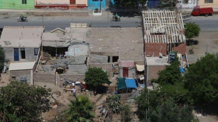 El sismo golpeó el sur de Perú (Andina Agency via AP)