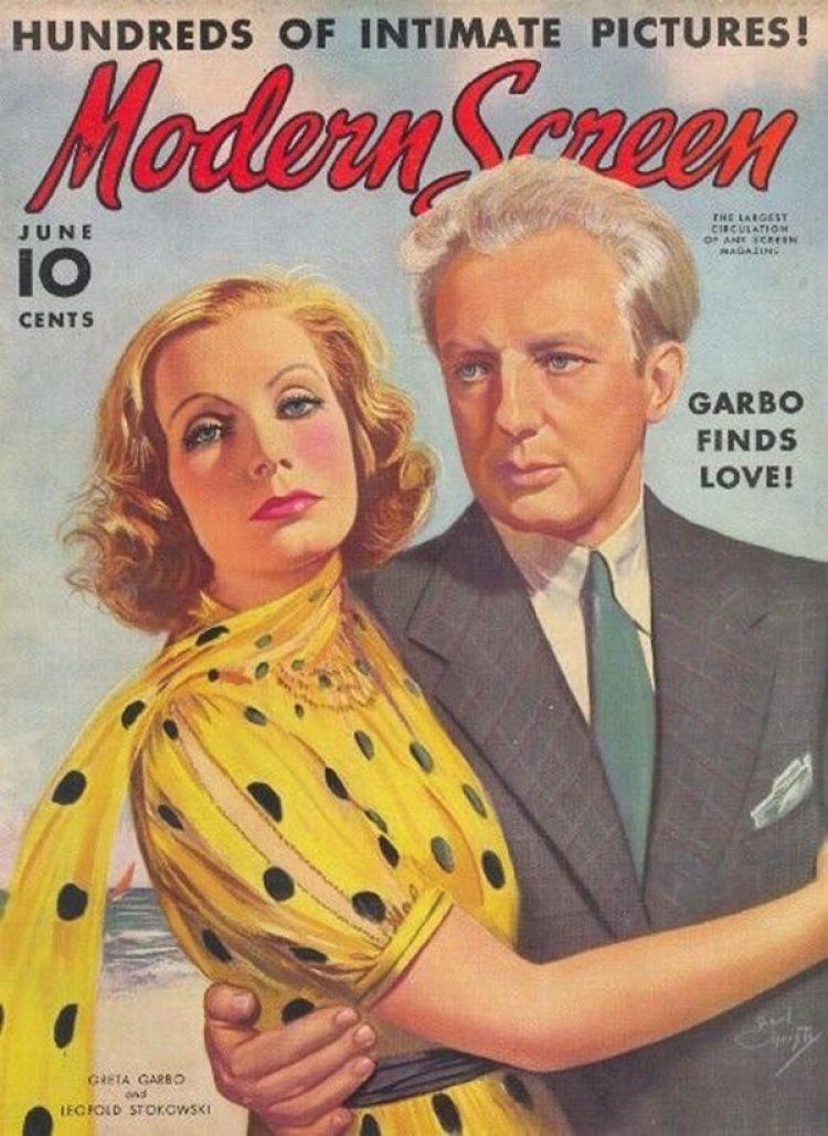 Su relación con Leopold Stokowski fue centro de atención de la prensa rosa