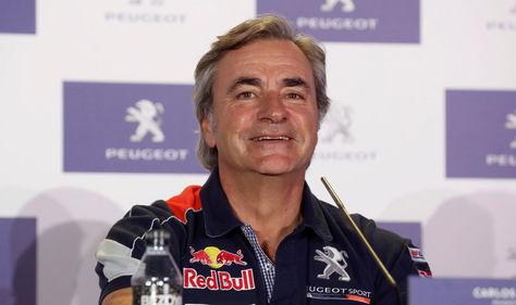 El piloto español Carlos Sainz que competirá en el rally Dakar