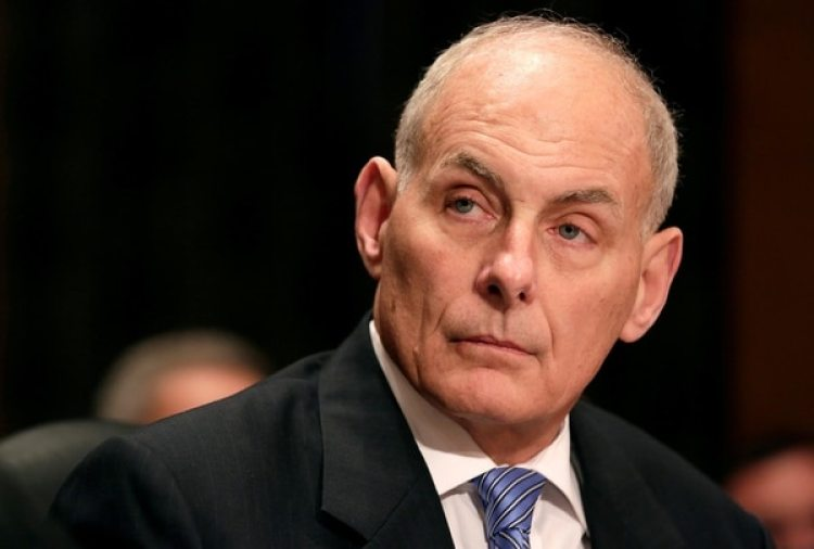 John Kelly, (Reuters)