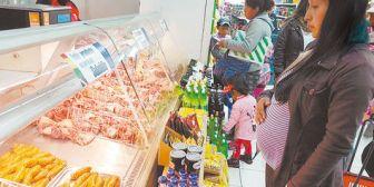 Denuncian baja calidad del subsidio en supermercados de La Paz y El Alto