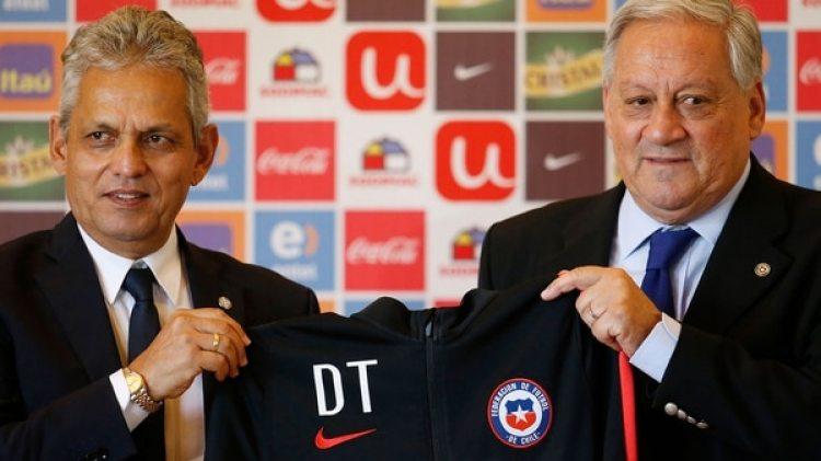 Reinaldo Rueda fue presentado como nuevo DT de Chile en una rueda de prensa en la ANFP