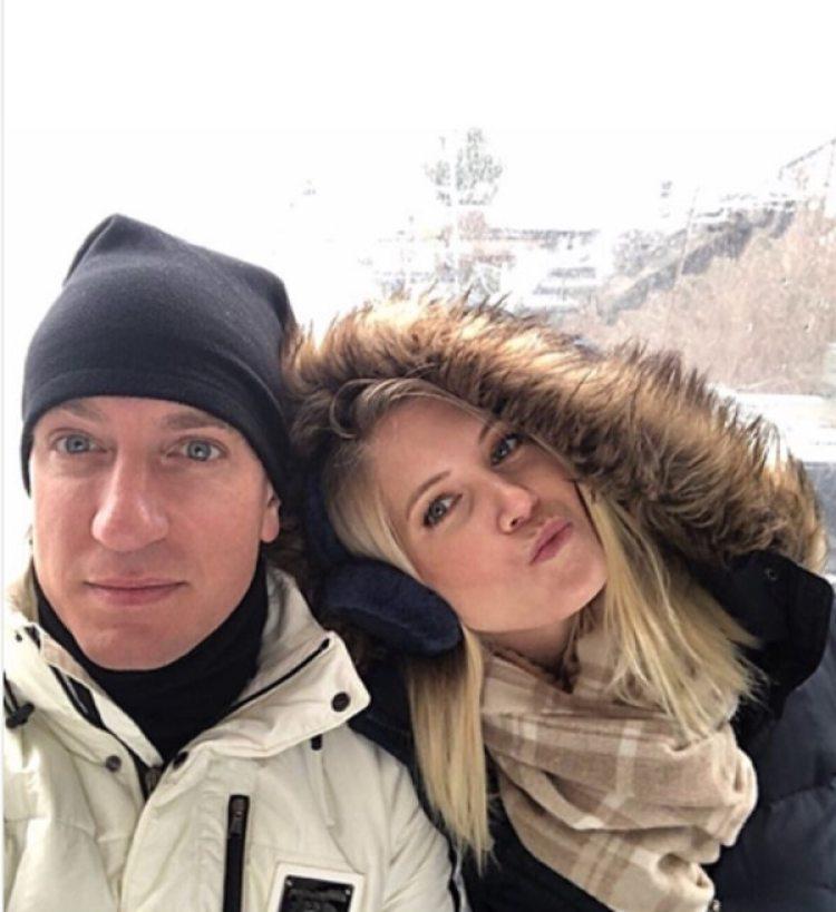 Maxi López y su novia, Daniela Christiansson