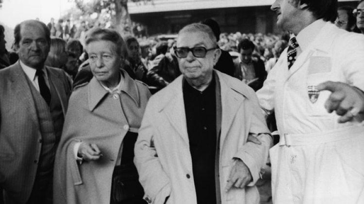 Simone de Beauvoir y Jean-Paul Sartre (Getty Images)