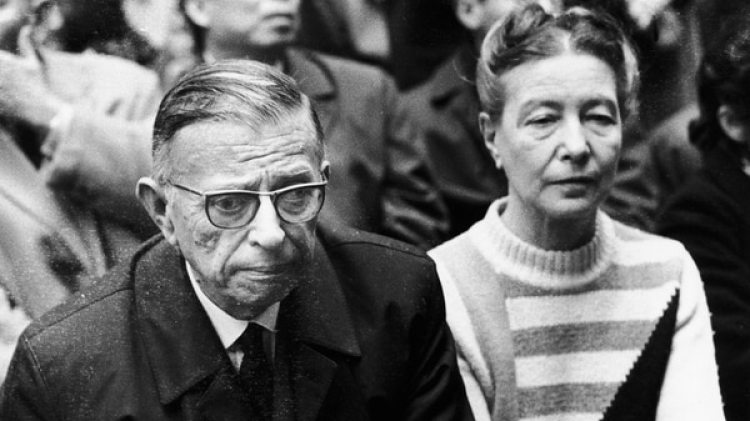 Sartre y de Beauvoir (Getty Images)