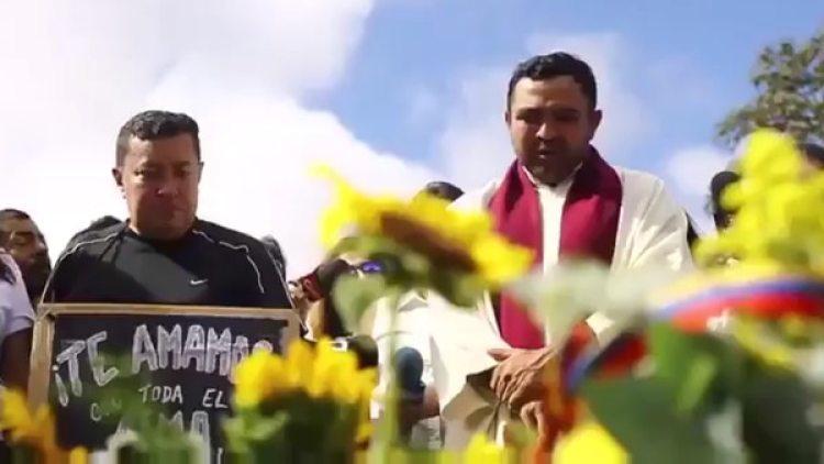 El sacerdote valoró los ideales de libertad y justicia de Óscar Pérez