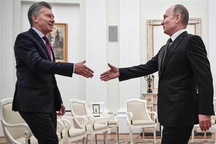 Macri y Putin buscan afianzar la relación bilateral