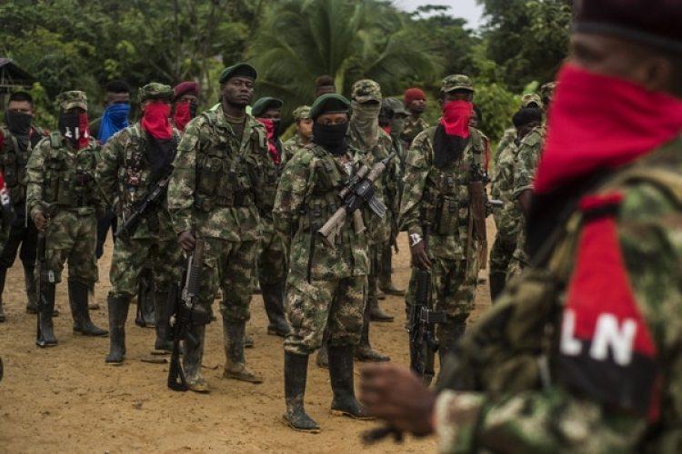 Miembros del ELN (AFP)