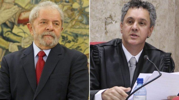 Lula da Silva y Joao Pedro Gebran Neto