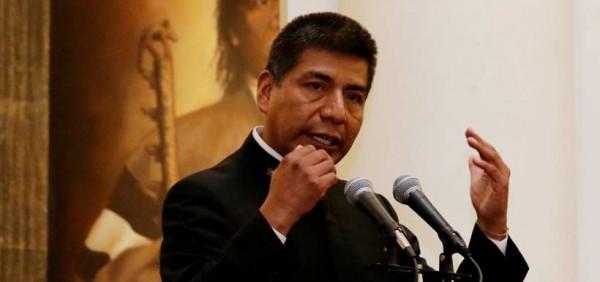 El canciller Fernando Huanacuni. (APG)