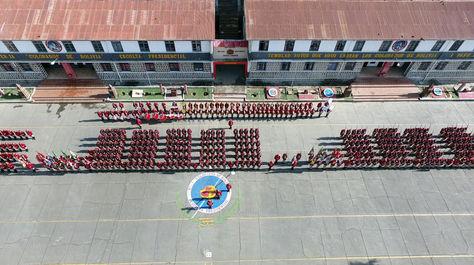 Un centro de instrucción militar en La Paz. Foto: Pedro Laguna