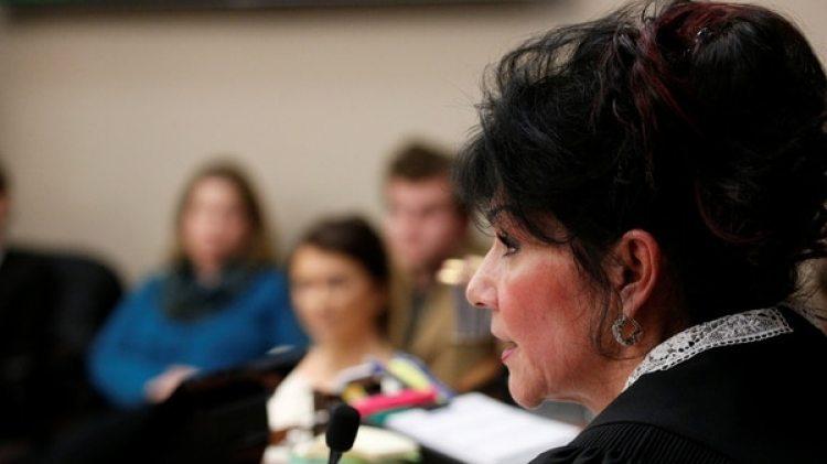 La jueza Rosemarie Aquilina hasido la protagonistaen la sentencia de Larry Nassar (Reuters)