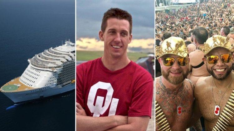 El Harmony of the Seas, Joel Taylor y las fiestas en cubierta