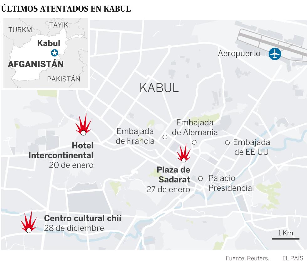 Al menos 63 muertos y 151 heridos al estallar una ambulancia bomba en Kabul