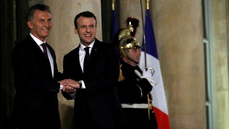 Mauricio Macri terminó su gira europea en Francia (Reuters)