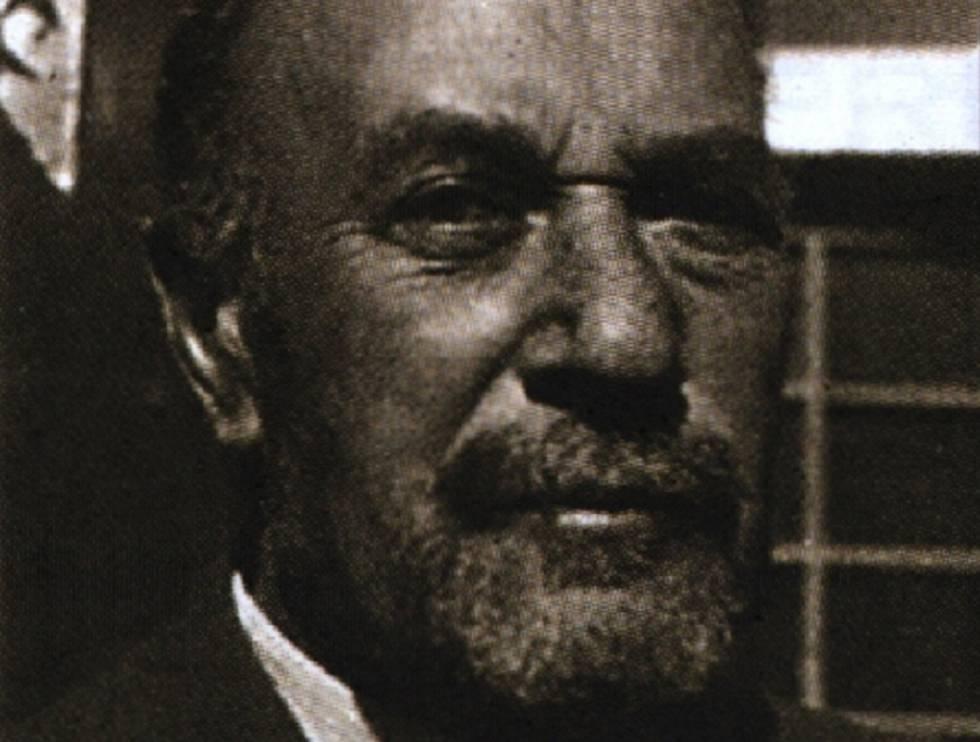 El magnate minero alemán Moritz Hochschild.rn