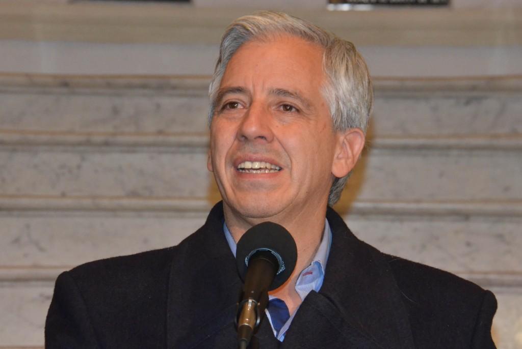 El vicepresidente Álvaro García Linera. (Internet)