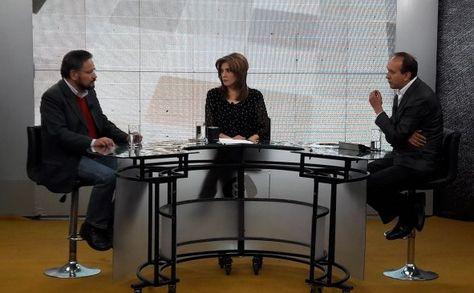 El ministro Alfredo Rada en el programa El Pueblo es Noticia.