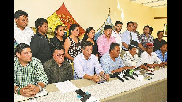 Comités cívicos ratifican paro con bloqueos desde el 21 de febrero