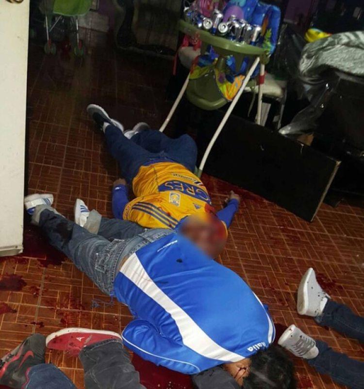 Ocho hombres murieron después de que personas armadas entraran a su casa y les dispararan, en Nuevo León (Proceso)