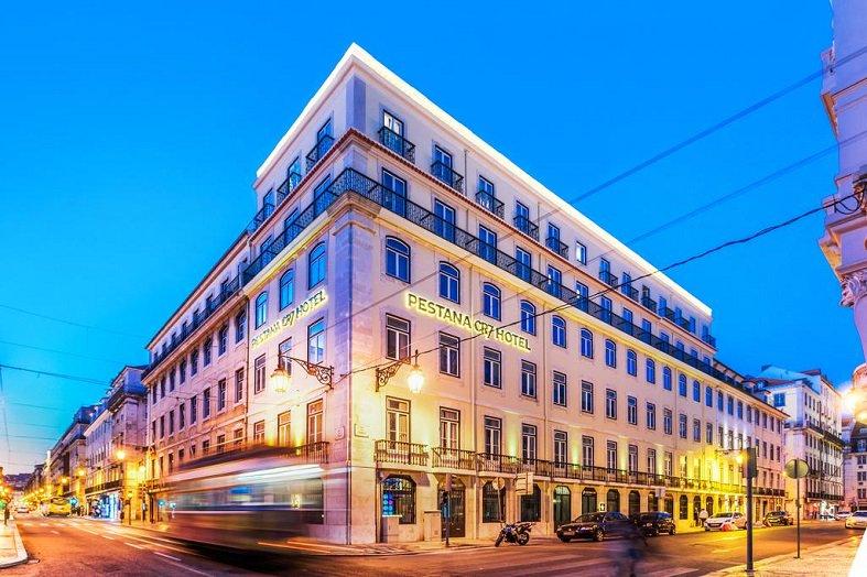 Así luce el hotel ubicado en Lisboa.