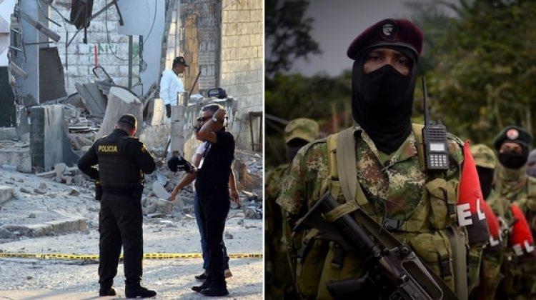 El ELN se adjudicó uno de los atentados en Colombia