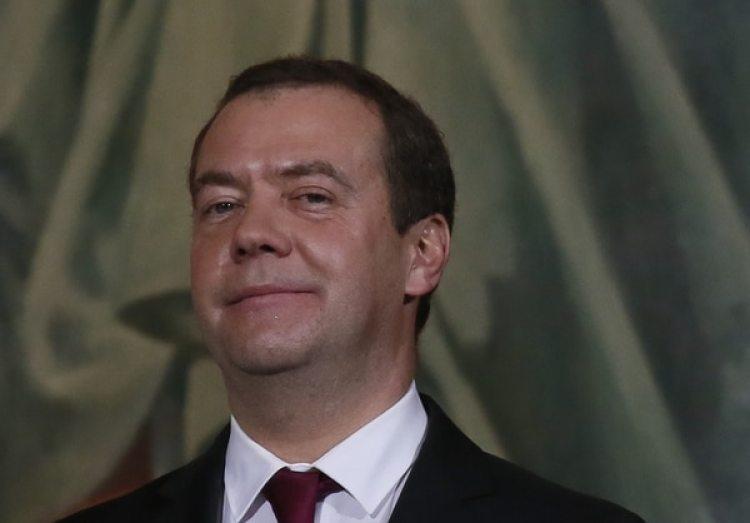 El primer ministro ruso Dmitri Medvédev (REUTERS/Maxim Shemetov)