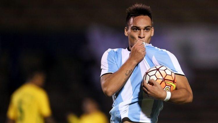 Lautaro Martínez tiene chances de ir al Mundial (Télam)