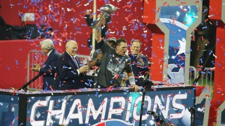 New England Patriots campeones del Super Bowl XLIX (Getty)