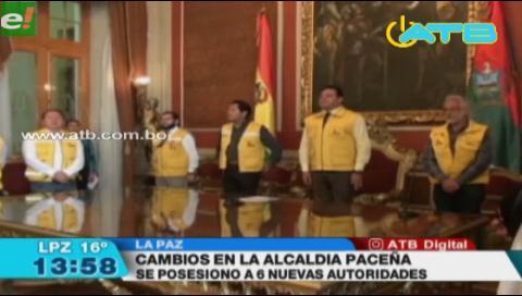 Alcalde Revilla realizó cambio de algunas autoridades