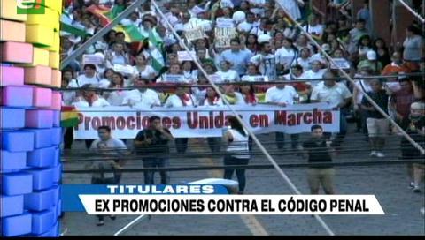 Video titulares de noticias de TV – Bolivia, noche del jueves 11 de enero de 2018