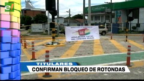 Video titulares de noticias de TV – Bolivia, noche del miércoles 17 de enero de 2018