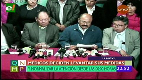 Conferencia conjunta entre el gobierno y los médicos sella acuerdo sobre el Código Penal