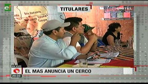 Video titulares de noticias de TV – Bolivia, noche del lunes 15 de enero de 2018