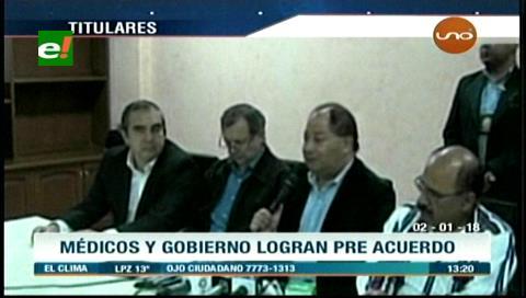 Video titulares de noticias de TV – Bolivia, mediodía del martes 2 de enero de 2018