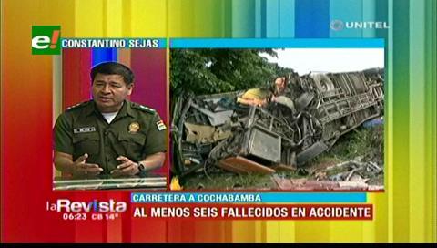 Tránsito afirma que el bache que habría provocado accidente estaba señalizado