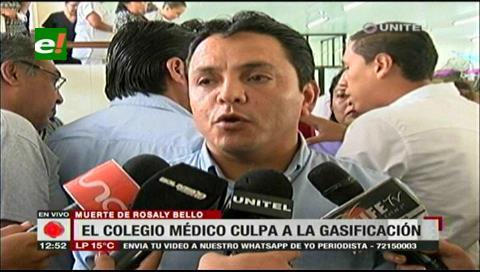 Colegio Médico cruceño pide que se investigue muerte de la mujer en Pailas
