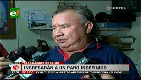 Trabajadores en salud ingresarán en un paro indefinido a partir del 8 de enero