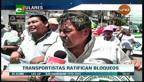 Video titulares de noticias de TV – Bolivia, mediodía del viernes 5 de enero de 2018
