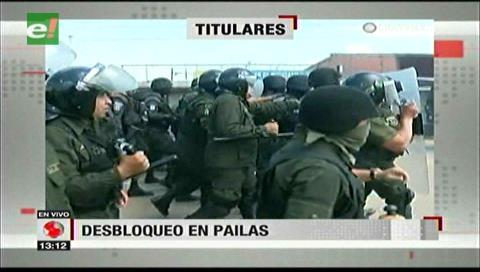 Video titulares de noticias de TV – Bolivia, mediodía del martes 9 de enero de 2018