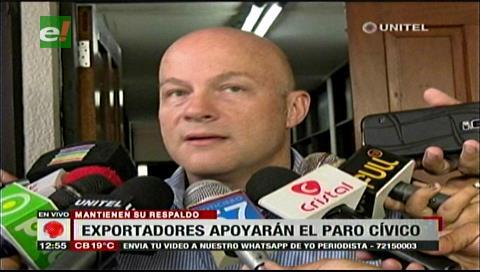Cadex ratifica apoyo al paro cívico de Santa Cruz pese a reunión con el Gobierno